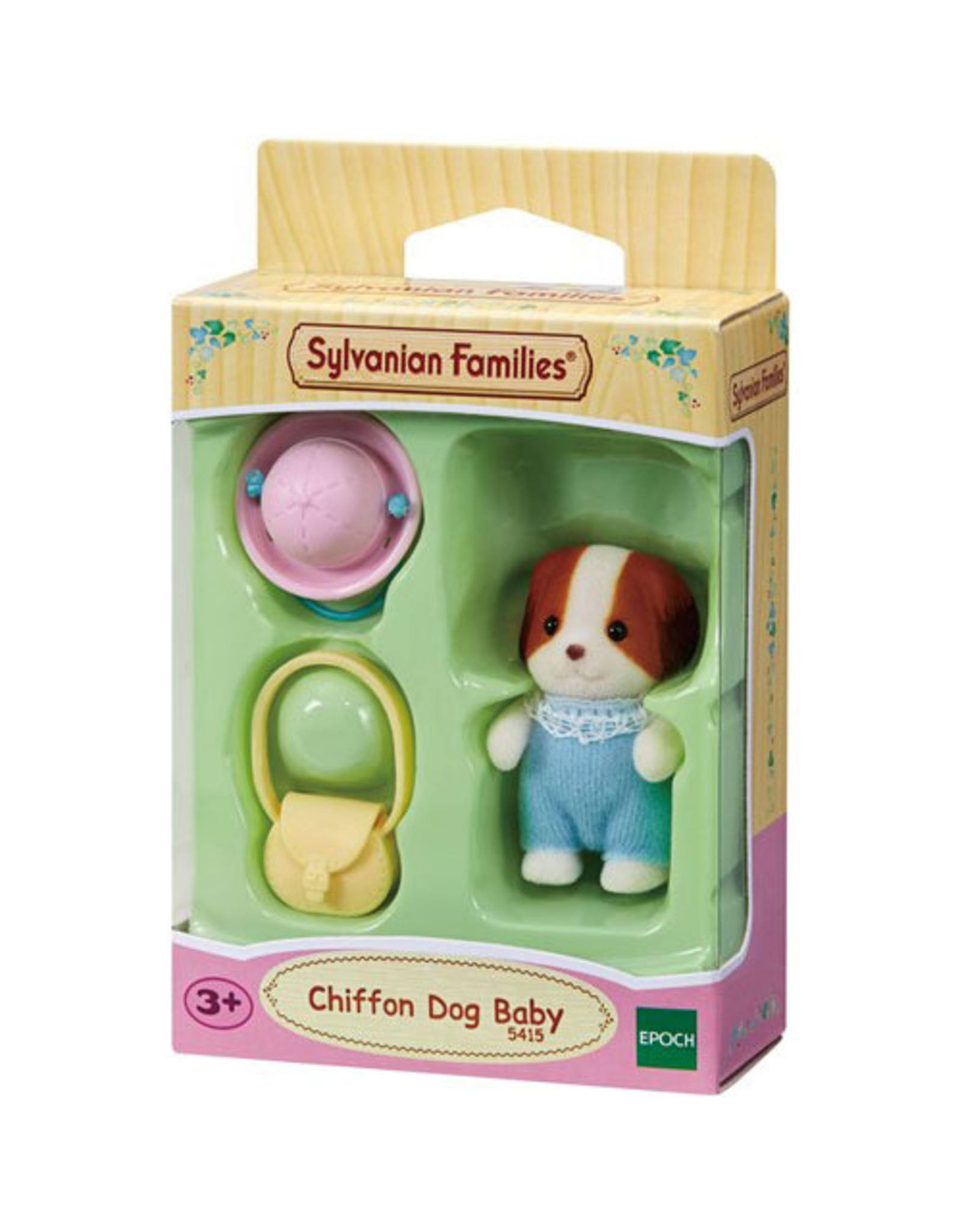 Sylvanian Families Baby Chiffon Hond (nieuw)