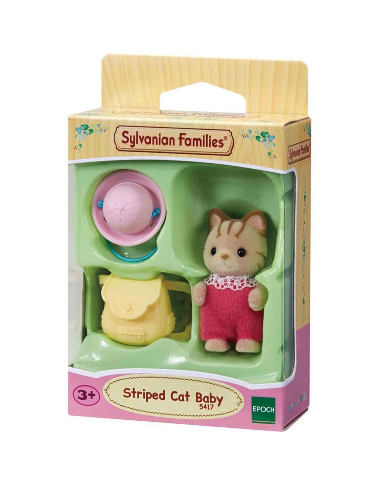 Sylvanian Families Sylvanian Families Baby Gestreepte Kat