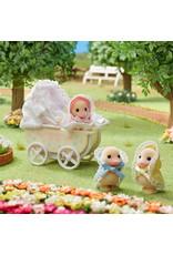 Sylvanian Families Sylvanian Families Eendjes drieling met Kinderwagen