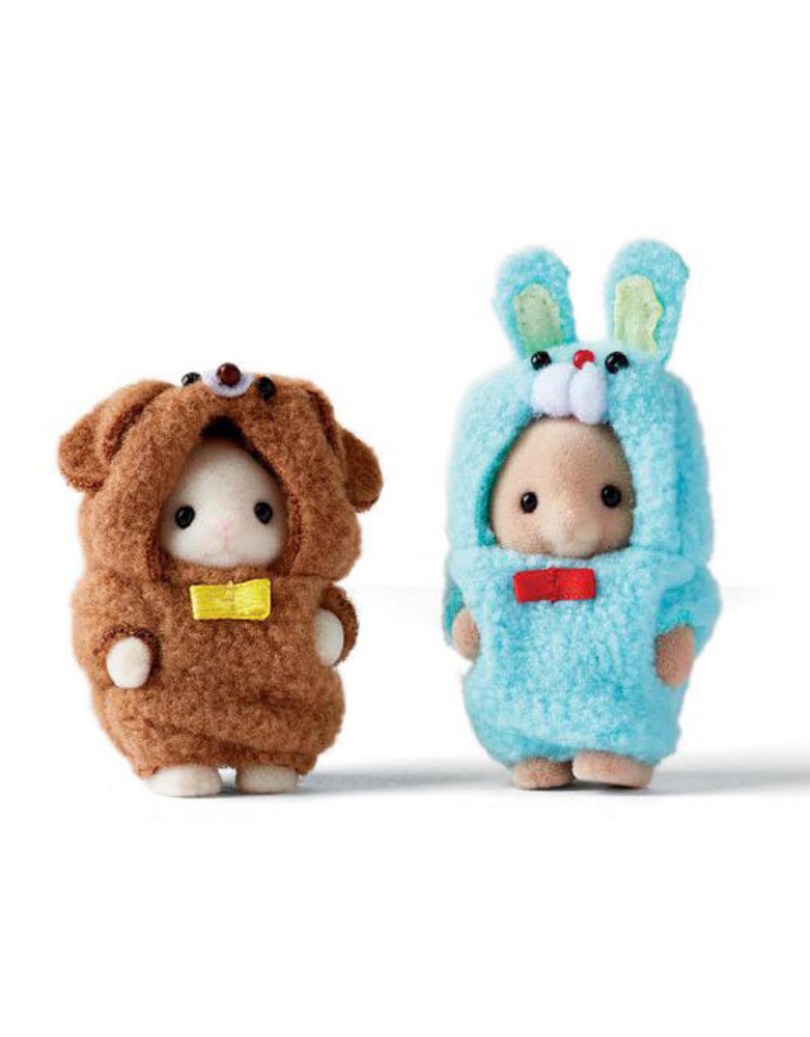 Sylvanian Families Costume Cuties (Bunny & Puppy)