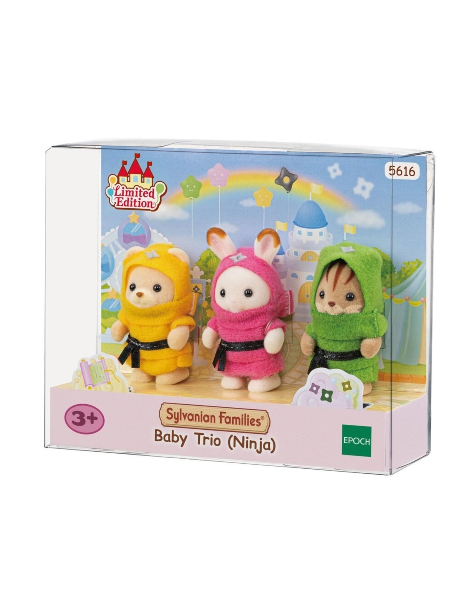 Sylvanian Families Baby Trio (Ninja)