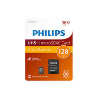 Philips  Philips 128GB Micro SDXC geheugenkaart
