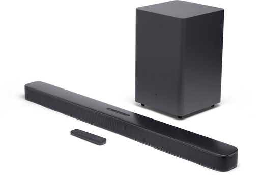 JBL Bar 2.1 soundbar met draadloze actieve subwoofer