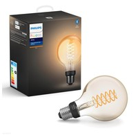 Philips  Philips Hue Filamentlamp White Globe E27 (Bluetooth)