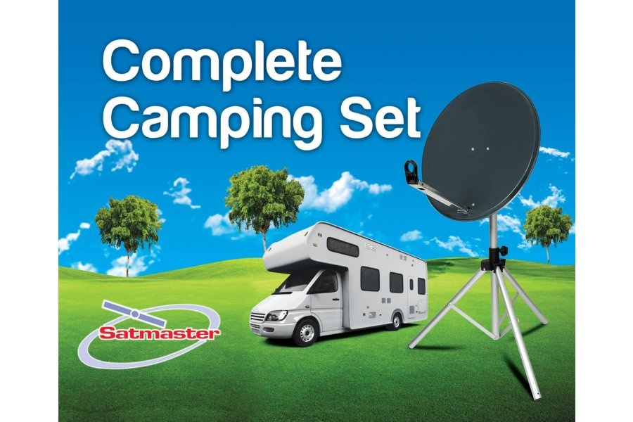 Satmaster Q002273 Complete Camping Set