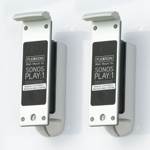 Flexson Sonos One meurbeugel wit paar