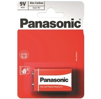 Panasonic Panasonic 9Volt Batterijen 6F22RZ1BP