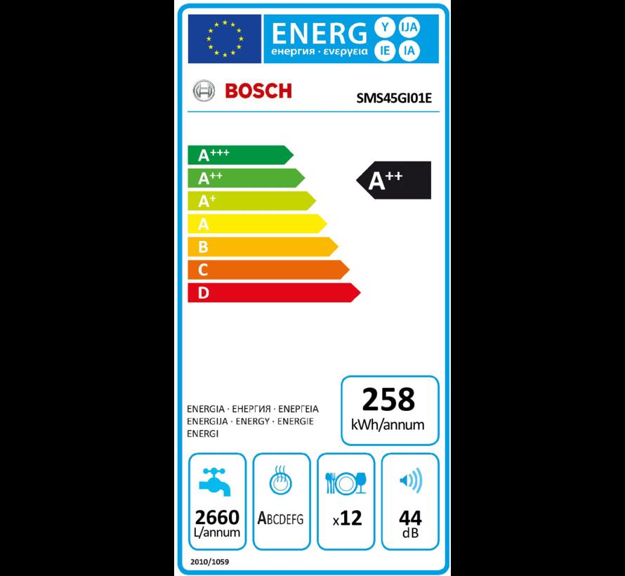 Bosch SMS45GI01E vaatwasser vrijstaand