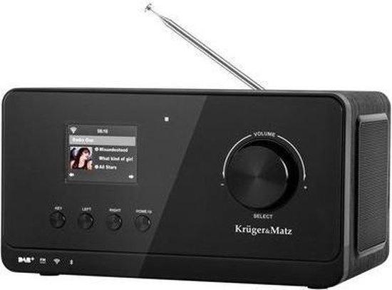 Krüger & Matz KM0816 DAB+, internet en FM radio