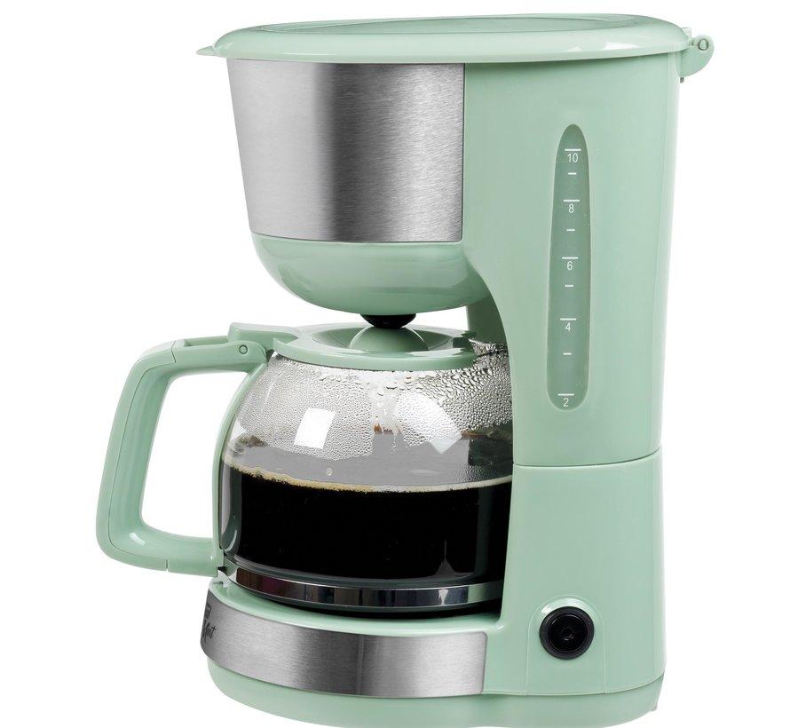 Bestron ACM1000M Koffiezetapparaat mintgroen