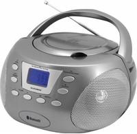 Soundmaster Soundmaster SCD3800TI Bluetooth CD boombox titaan