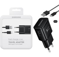 Samsung Samsung Fast Charge 15W Travel Adapter + USB type-c naar A kabel