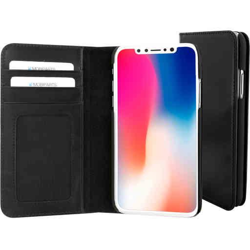 Mobiparts Excellent Wallet Case Apple iPhone X/XS Jade Black