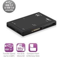 Ewent  Ewent EW1074 Externe USB 3.1 Kaartlezer