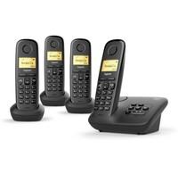 Gigaset Gigaset A270A Quattro Zwart Dect telefoon
