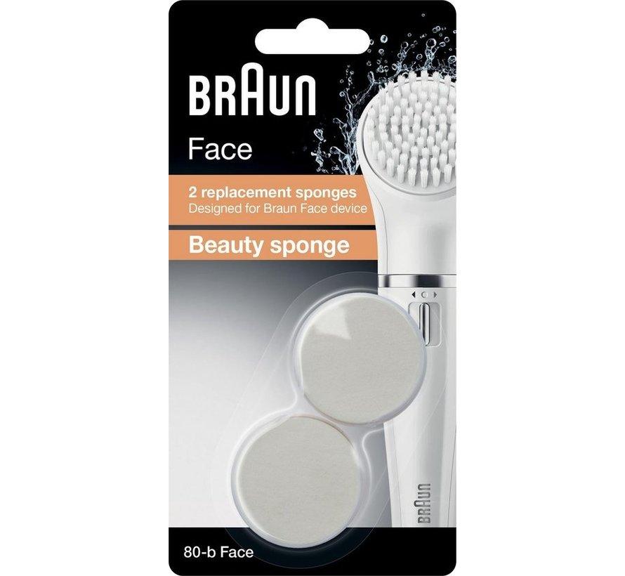 Braun face beautyspons SE80B