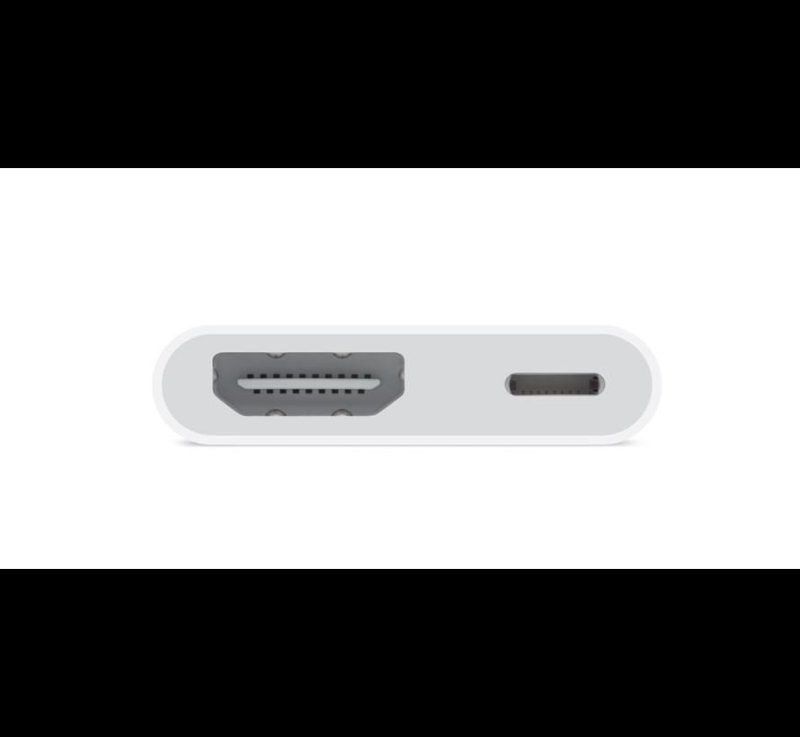 Apple Lightning cable Lightning male naar HDMI female, 15 cm