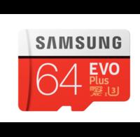 Samsung Samsung EVO Plus 64GB Micro SDXC geheugenkaart