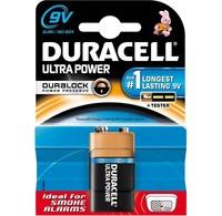 Duracell Duracell Batterij Ultra Power Alkaline 9V MX1604