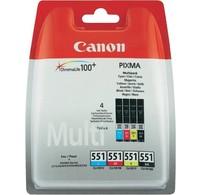 Canon Canon Inktcartridge CLI-551 Multipack