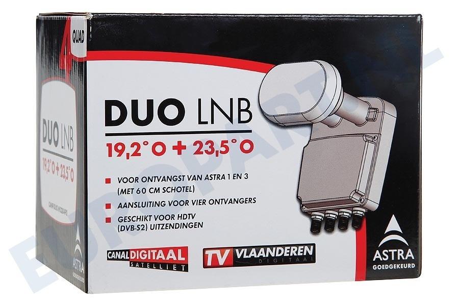 Canal Digitaal Duo Quad LNB (voor 60/64 cm schotel)