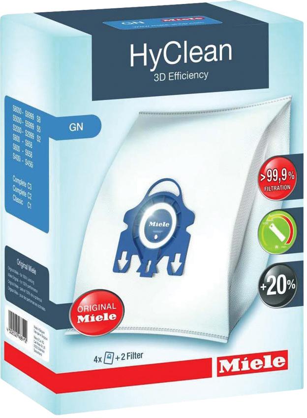 Miele GN HyClean 3D stofzuigerzakken (4 stuks)