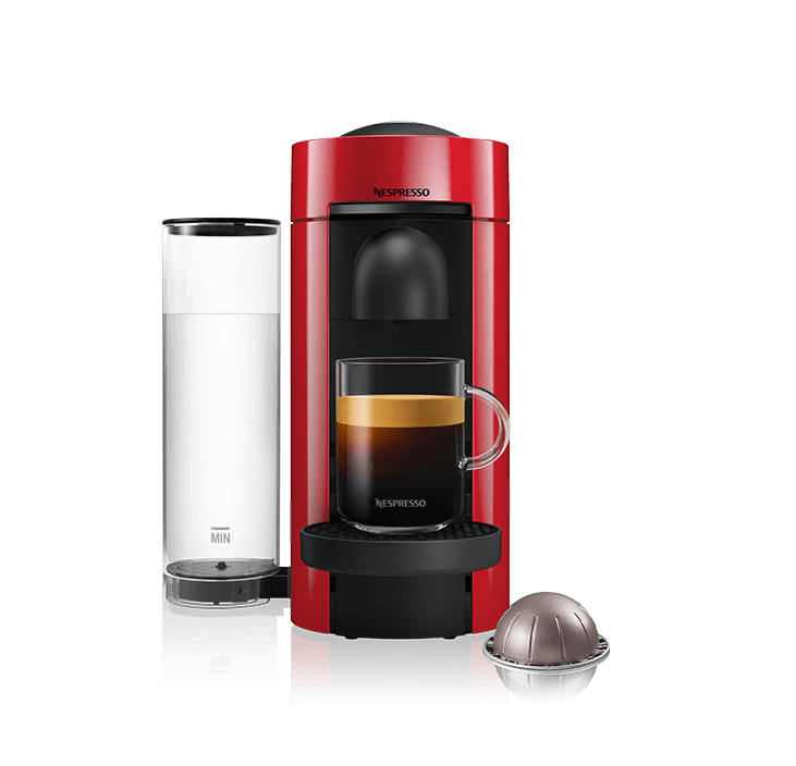 Magimix Vertuo Plus Rood Nespressomachine