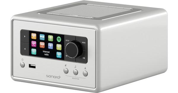Sonoro Relax SO-810 V2 Zilver Internetradio