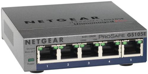 Netgear GS105E-200PES Netwerk switch