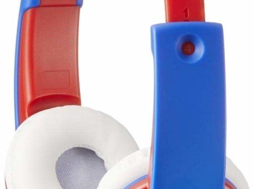 JVC JVC HAKD7 rood Kids On-Ear koptelefoon