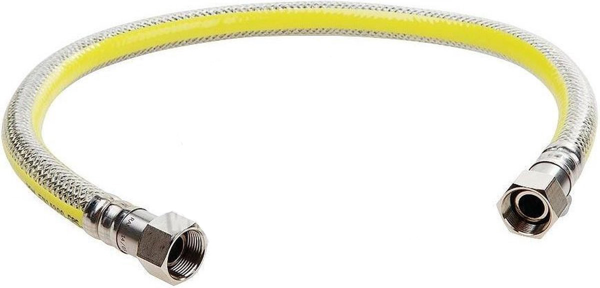 Easyfiks SM2295 Gasslang RVS flexibel 75cm (voor alle apparaten)