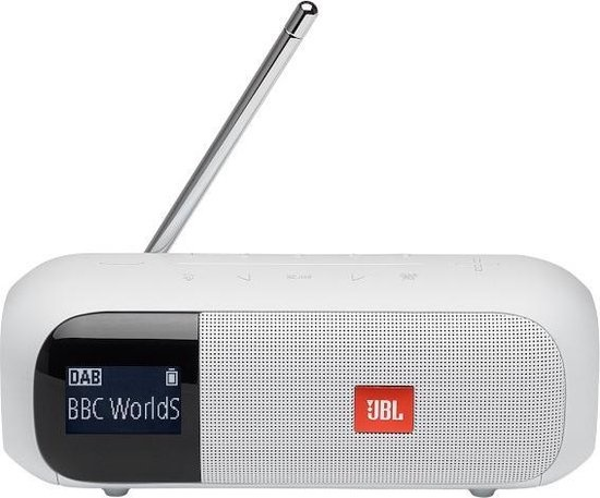 JBL Tuner 2 Wit Bluetooth Speaker