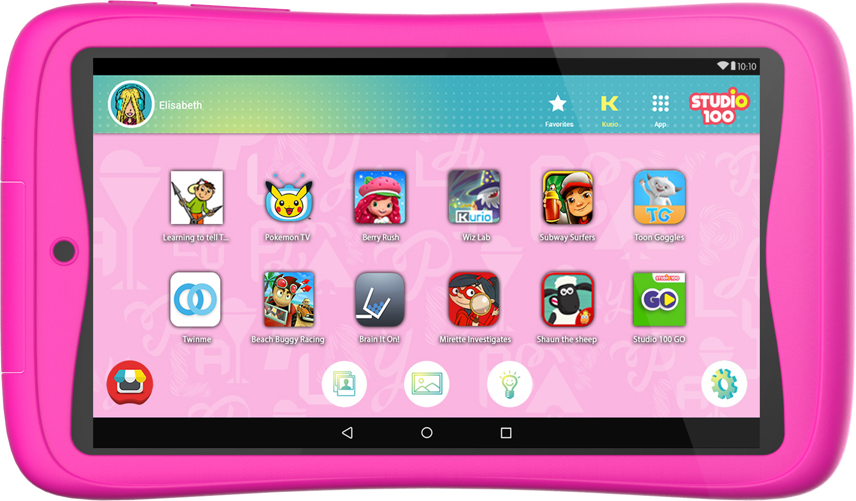Kurio Tablet Connect Studio 100 (roze)