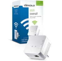 Devolo Devolo 9629 dLAN 550+ WiFi Powerline Adapter (uitbreiding)