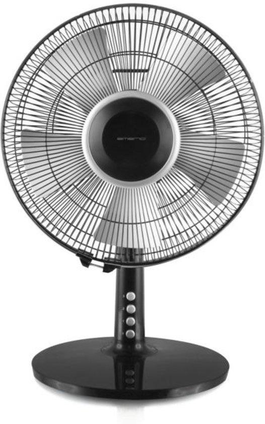 Emerio FN11424.1 Zwart Tafelventilator