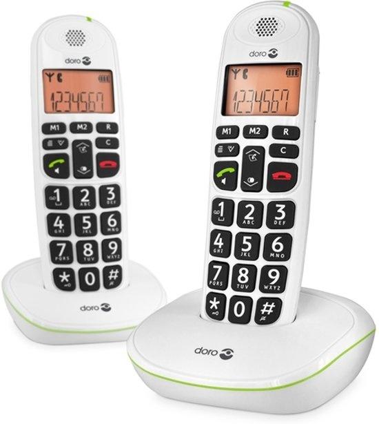DORO Phone Easy 100W Enkel Wit