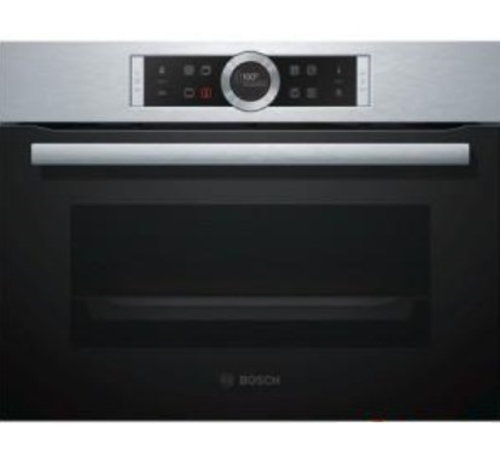Bosch Bosch CMG676BS1 Inbouw oven met magnetron 45cm