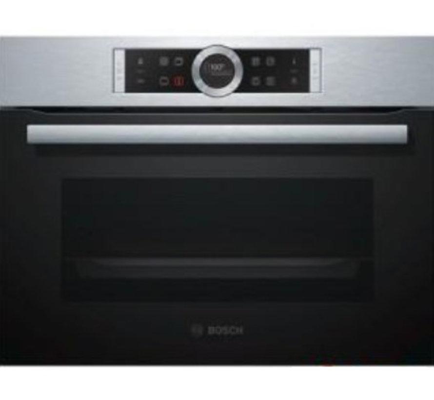 Bosch CMG676BS1 Inbouw oven met magnetron 45cm