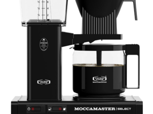 Moccamaster Moccamaster KBG Select Black met Glaskan Koffiezetapparaat