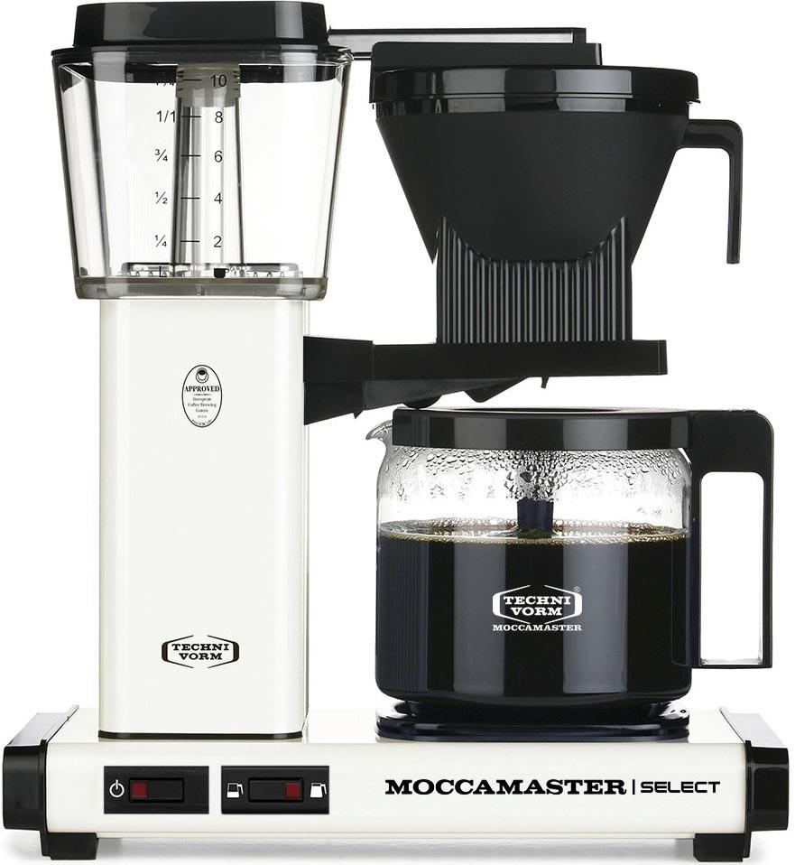 Moccamaster KBG Select Off White Koffiezetapparaat