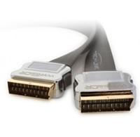 Techlink Techlink scart flat kabel 1.5 meter