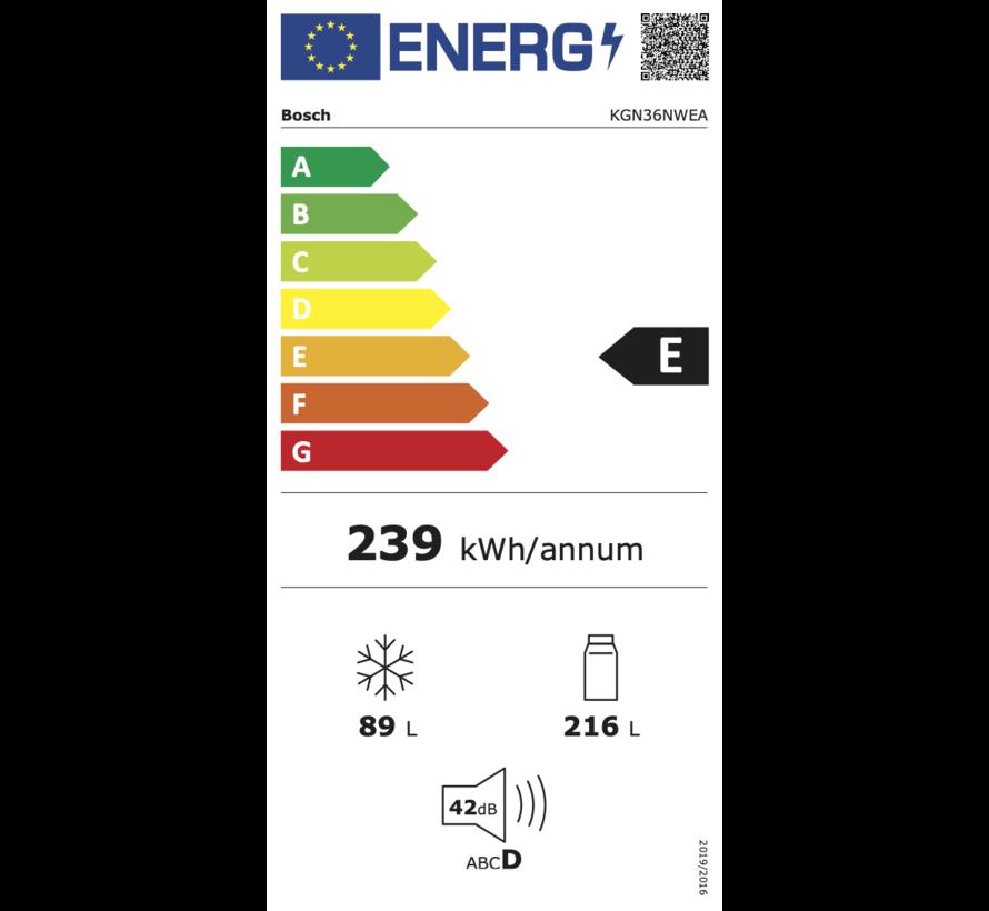 Bosch KGN36NWEA Vrijstaande koel-vriescombinatie