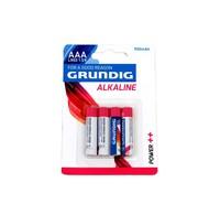 Grundig Grundig Alkaline Batterij AAA 4-pack