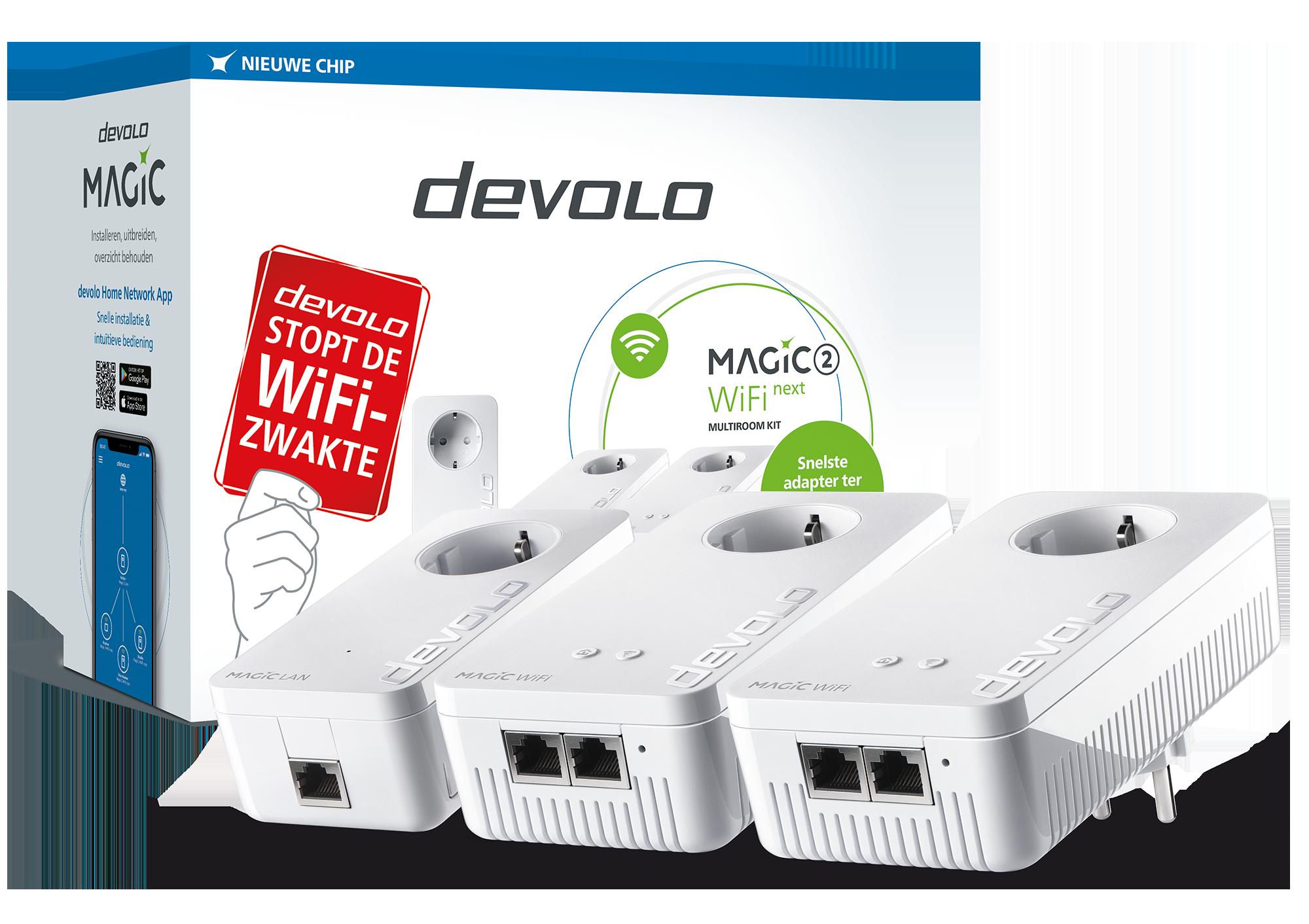 Devolo 8630 Magic 2 WiFi Next Multiroom Kit Powerline