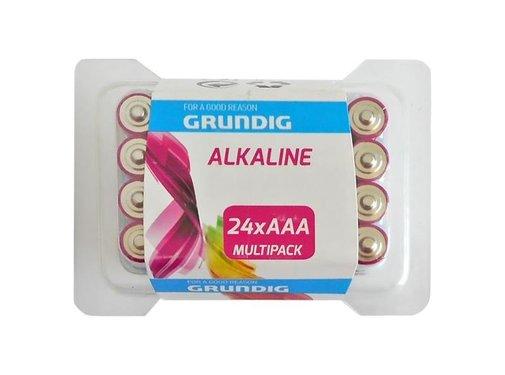Grundig Grundig Alkaline AAA 24 stuks blister
