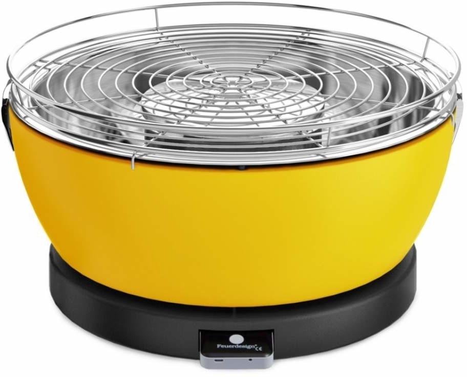 Feuerdesign Vesuvio Geel Tafelbarbecue