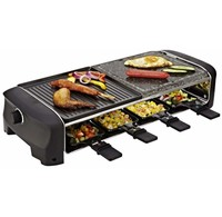 Princess Princess 162820 Raclette 8 Stone & Grill party