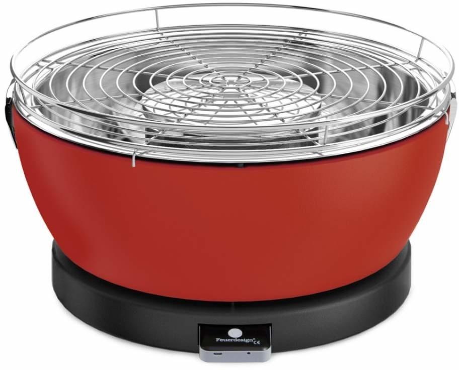 Feuerdesign Vesuvio Rood Tafelbarbecue