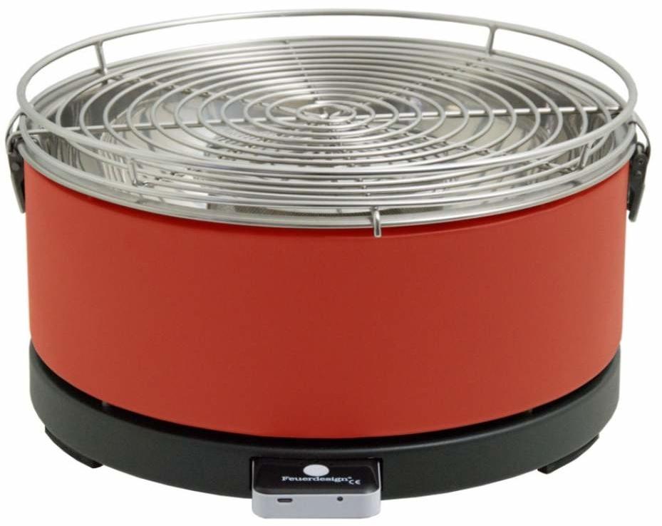 Feuerdesign Mayon Rood Tafelbarbecue