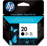 HP HP Inktcartridge 20 Zwart